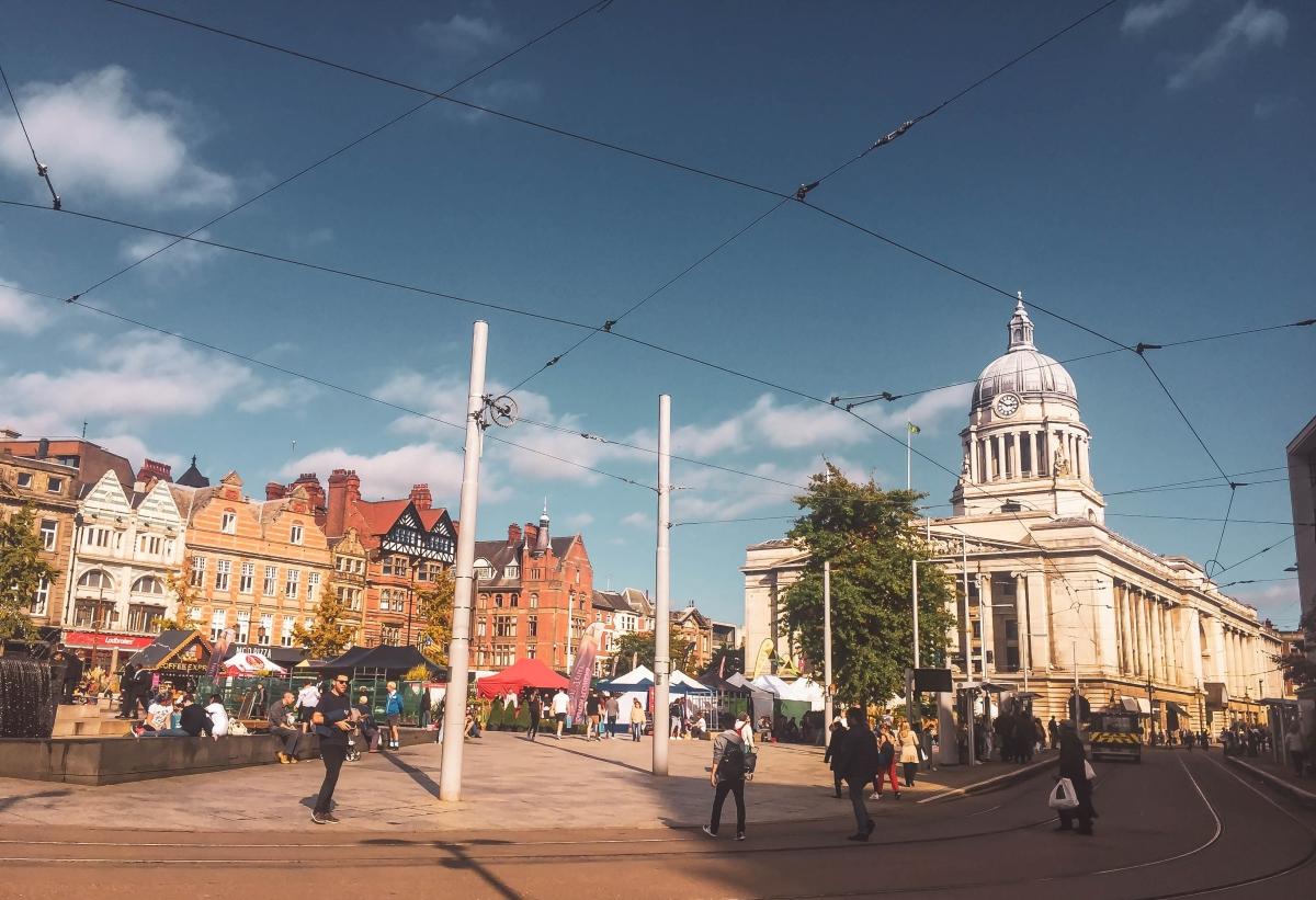 Nottingham: Life Transition inEngland