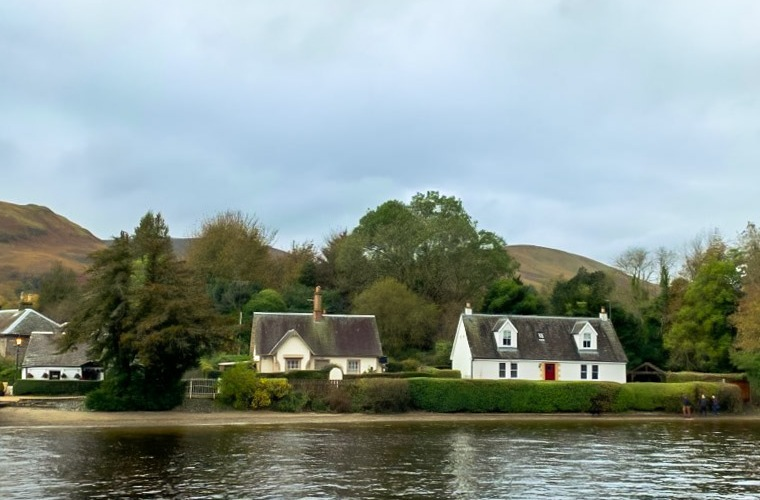 Luss Village in Scotland